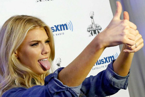 Charlotte McKinney Sunday – Gah, when does Baywatch come out?