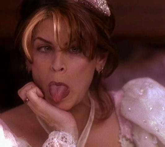 Kirstie Alley Tongue