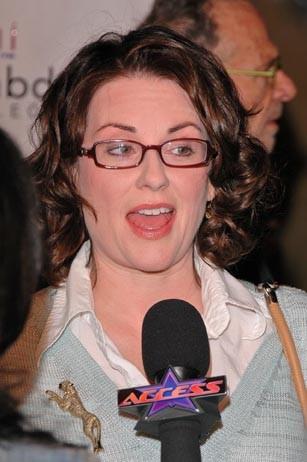 Megan Mullally Tongue