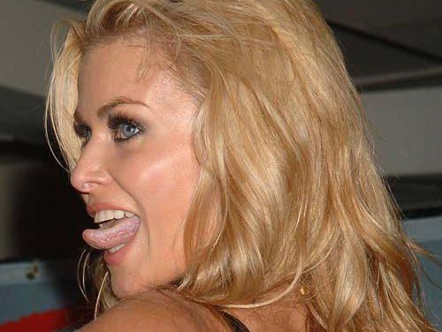 Carmen Electra Tongue