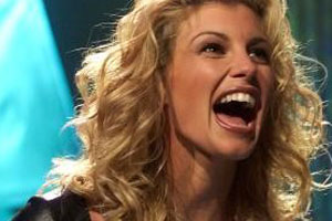 Faith Hill Tongue