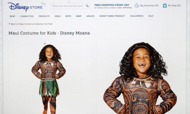 """Disney and Polynesian Demigods – (a.k.a. """"Stop selling skin costumes, Disney!"""")"""