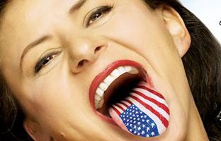 Tracey Ullman Tongue