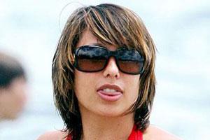 Cheryl Burke Tongue