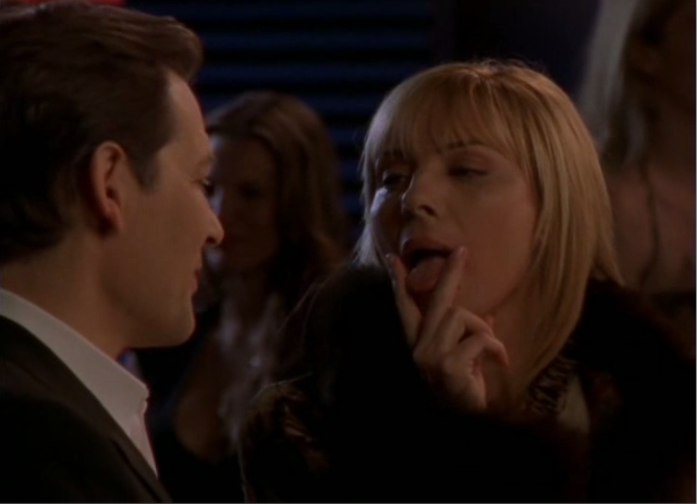 Kim Cattrall Tongue