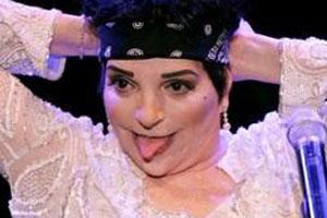 Liza Minelli Tongue