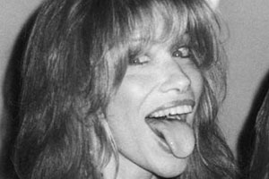 Carly Simon Tongue