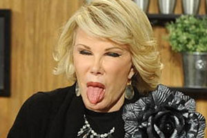 Joan Rivers Tongue