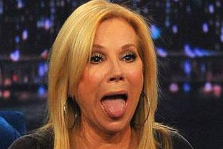 Kathie Lee Gifford Tongue