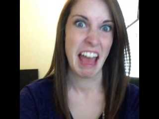 Overly Attached Girlfriend Tongue (Laina Morris)