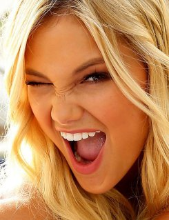 Olivia Holt Tongue