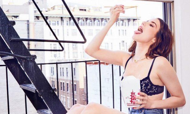 Emma Roberts Tongue