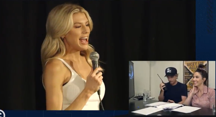 Charlotte McKinney does Stand Up and I hate David Spade