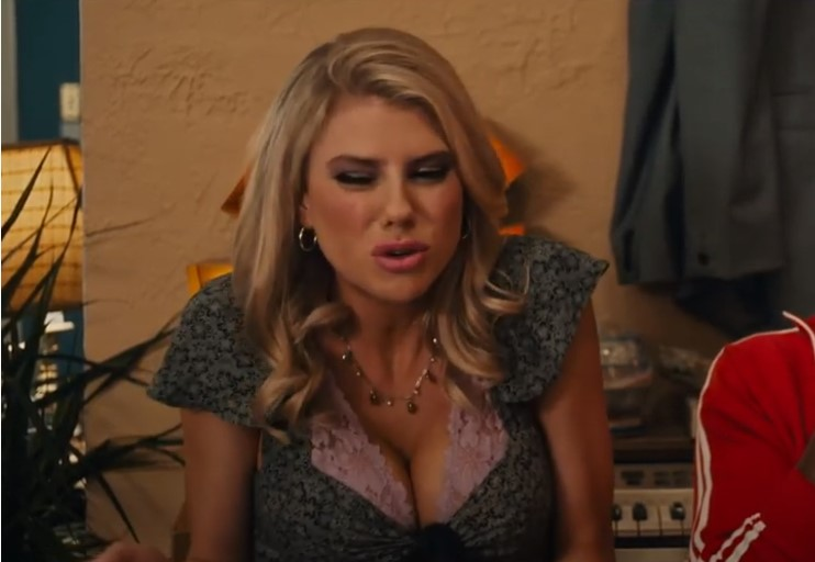 Charlotte McKinney is IN a trailer!  You can see her!