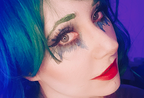 New Take on a Female Joker Cosplay